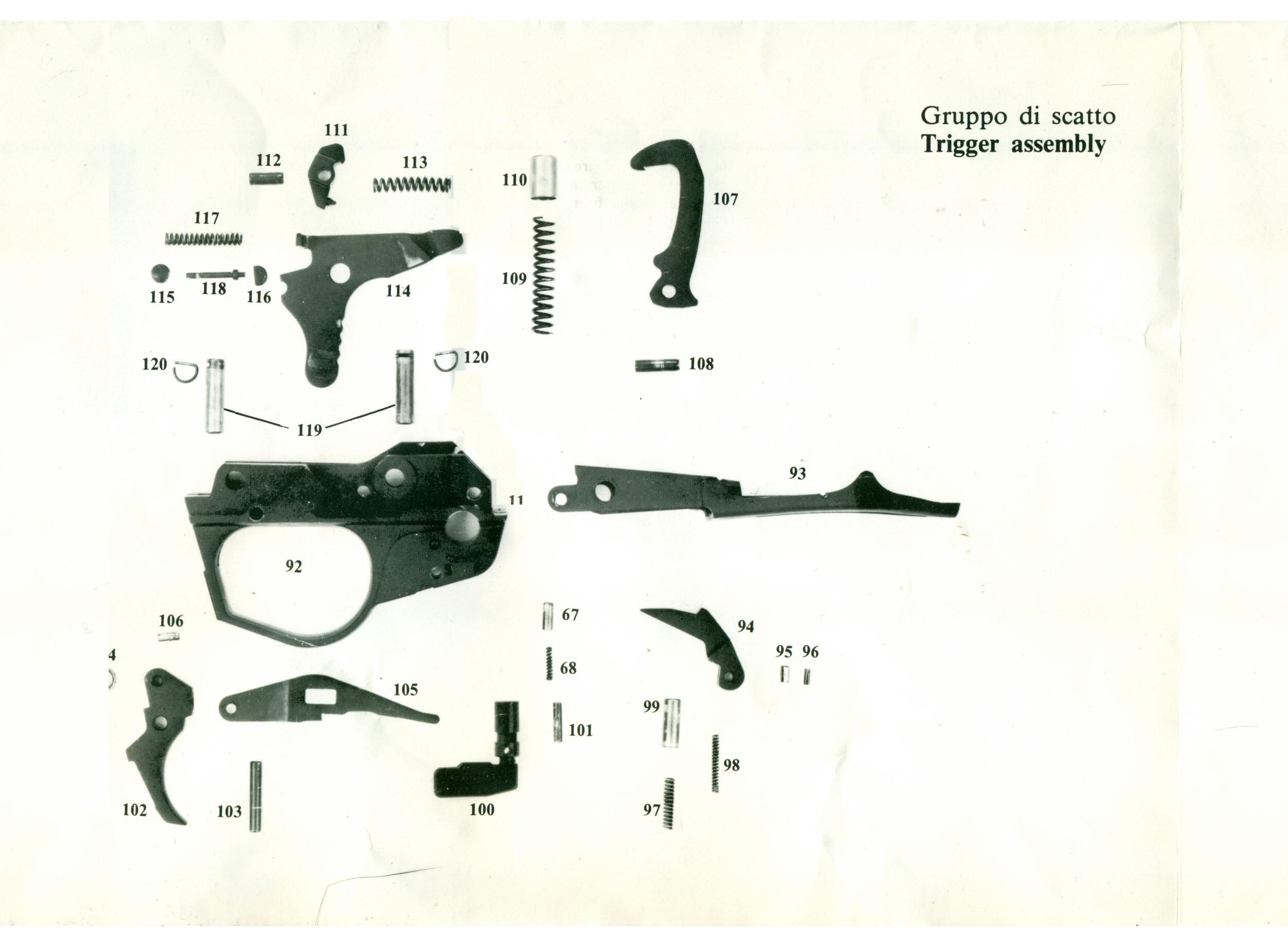 mossberg 500 schematic  | spas12.com